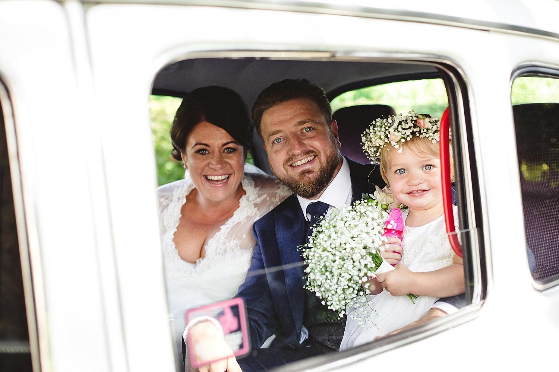 Moor Hall Wedding Taxi - Anesta Broad Photography