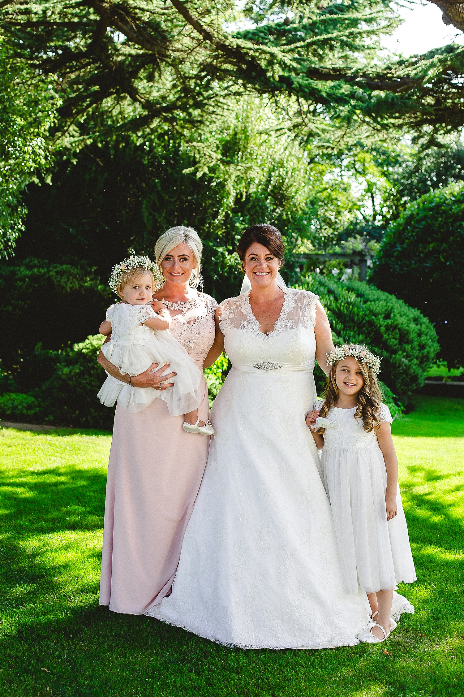 Moor Hall Wedding - Bridal Party - Anesta Broad Photography
