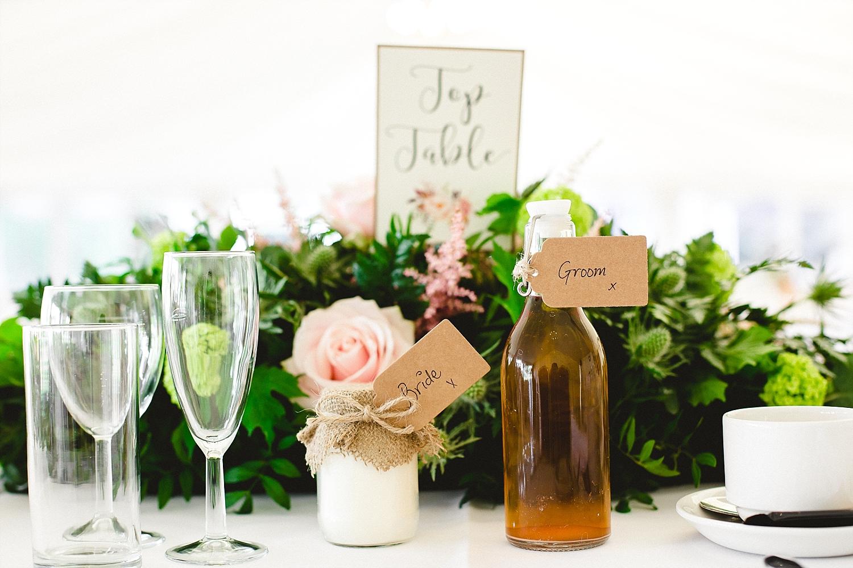 Moor Hall Wedding Venue - Reception Details