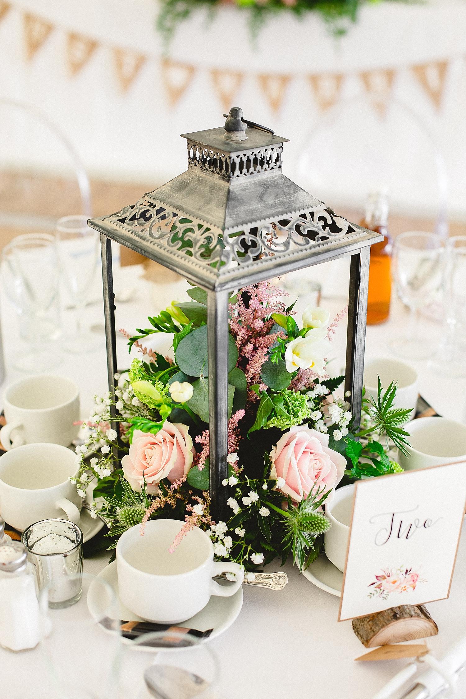 Moor Hall Wedding Venue - Reception Floral Details