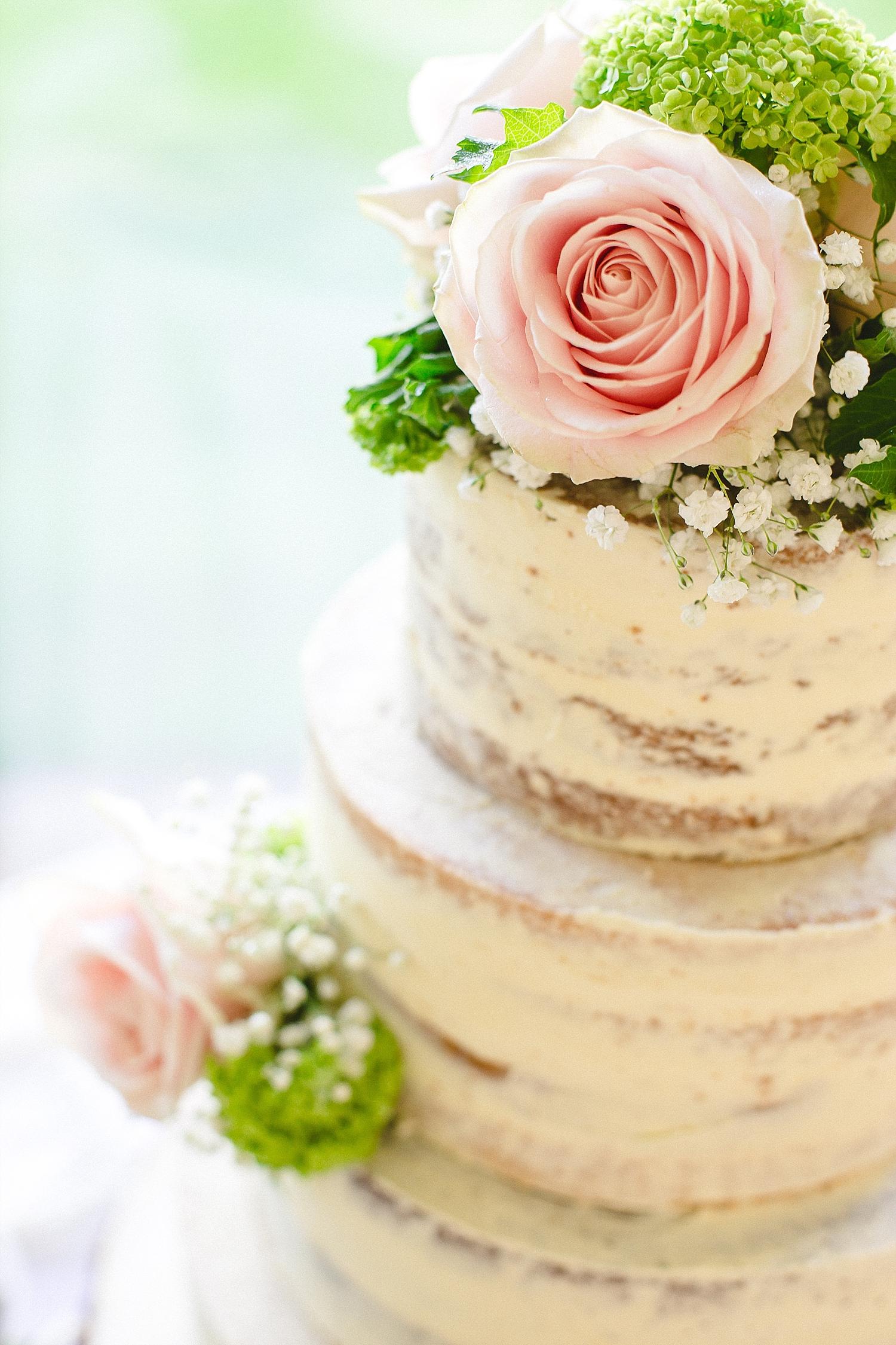 Moor Hall Wedding Photographer - Wedding Cake