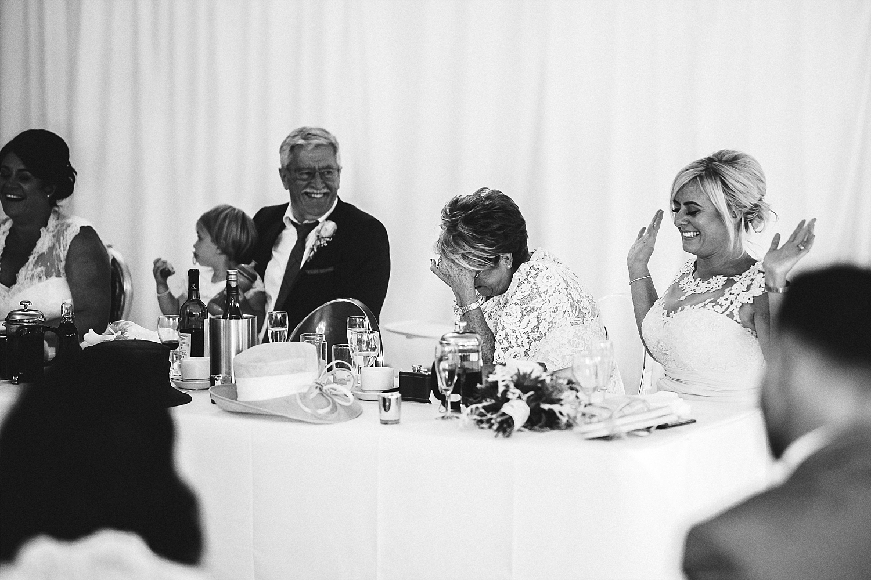 Moor Hall Essex Wedding - Reception Speeches