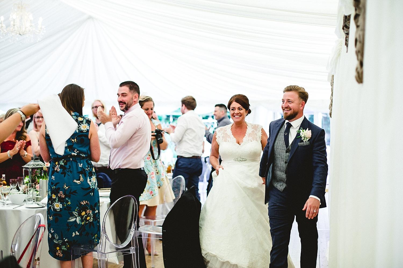 Essex Wedding Photographer - Moor Hall Wedding Venue - Bride and Groom Entrance