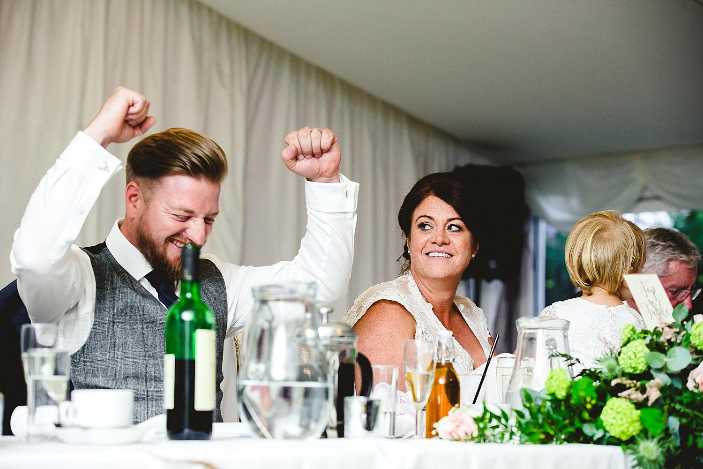 Moor Hall Essex Wedding Photographer - Reception Speeches