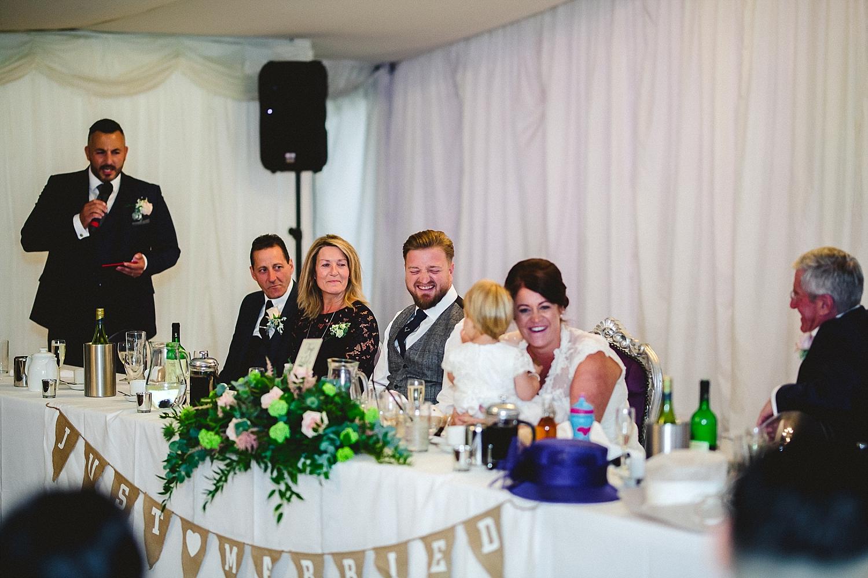 Moor Hall Essex Wedding Photography - Reception Speeches