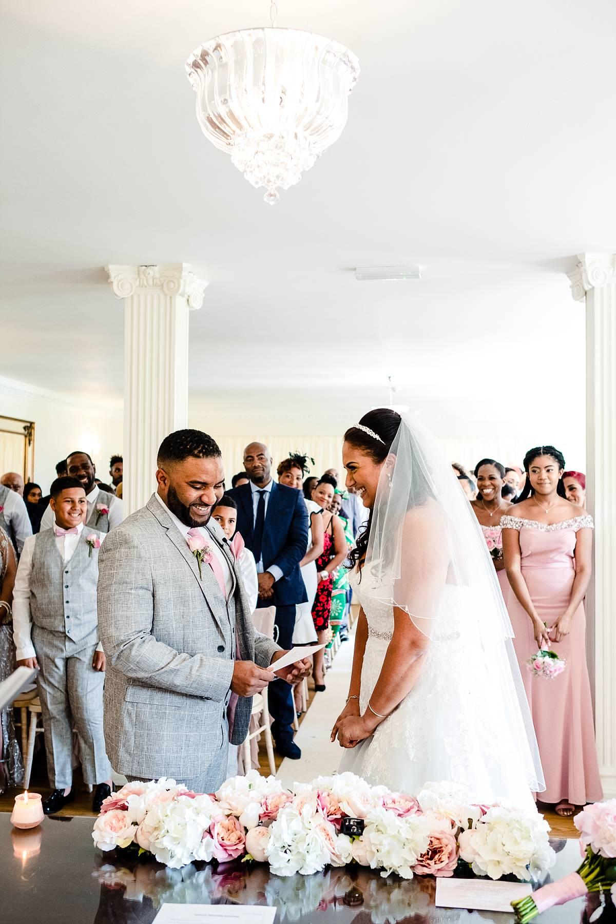 Parklands Quendon Hall Wedding Photography - Ceremony