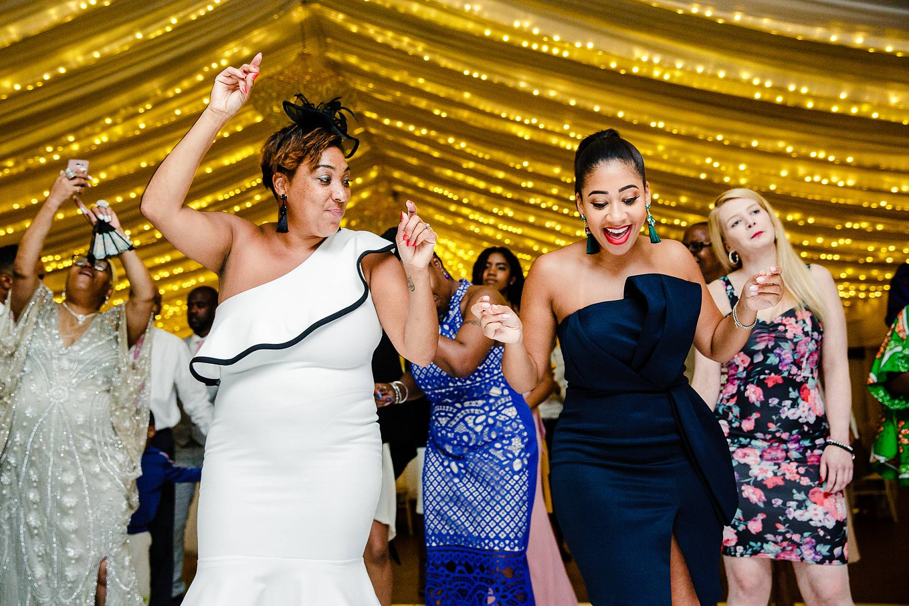 Parklands Quendon Hall Wedding Photographer - Dance Floor