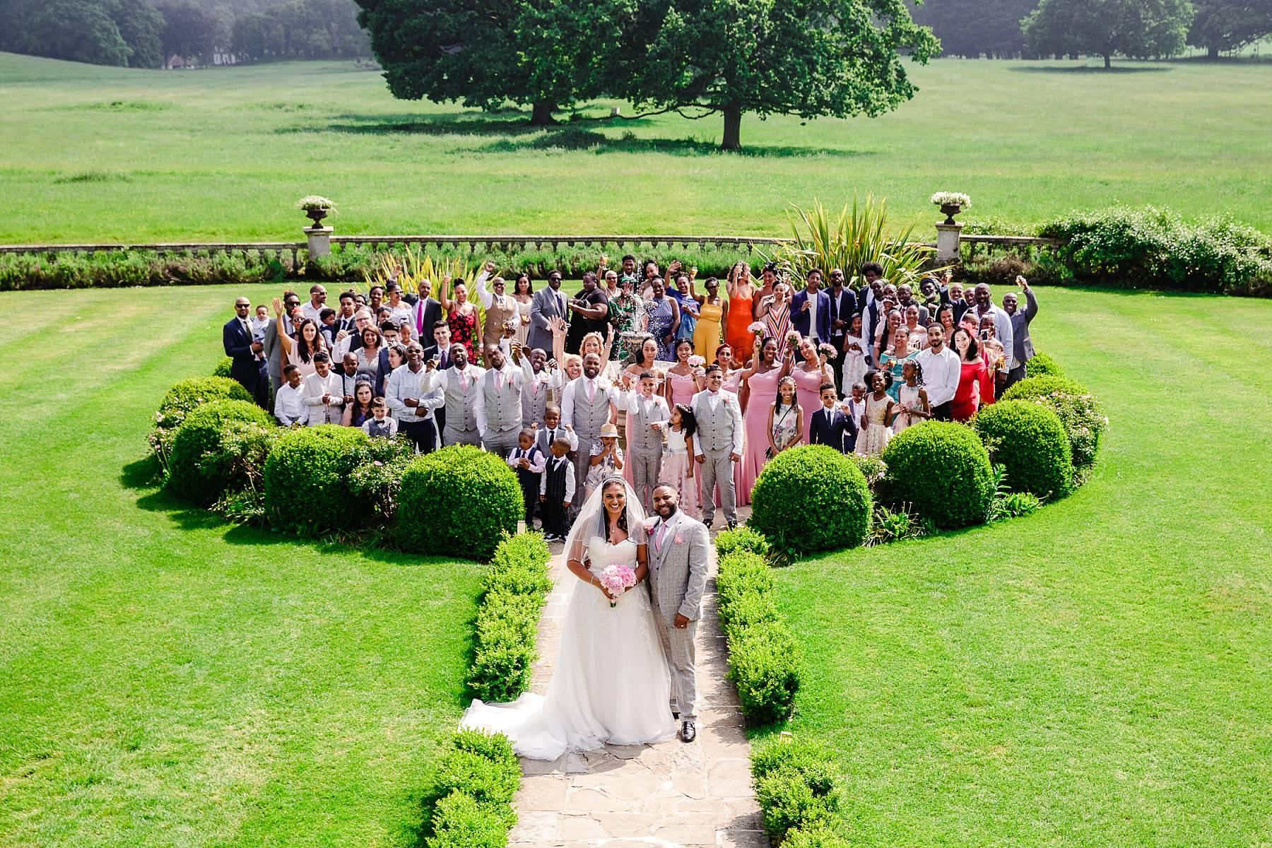 Quendon Hall Essex Wedding Photography