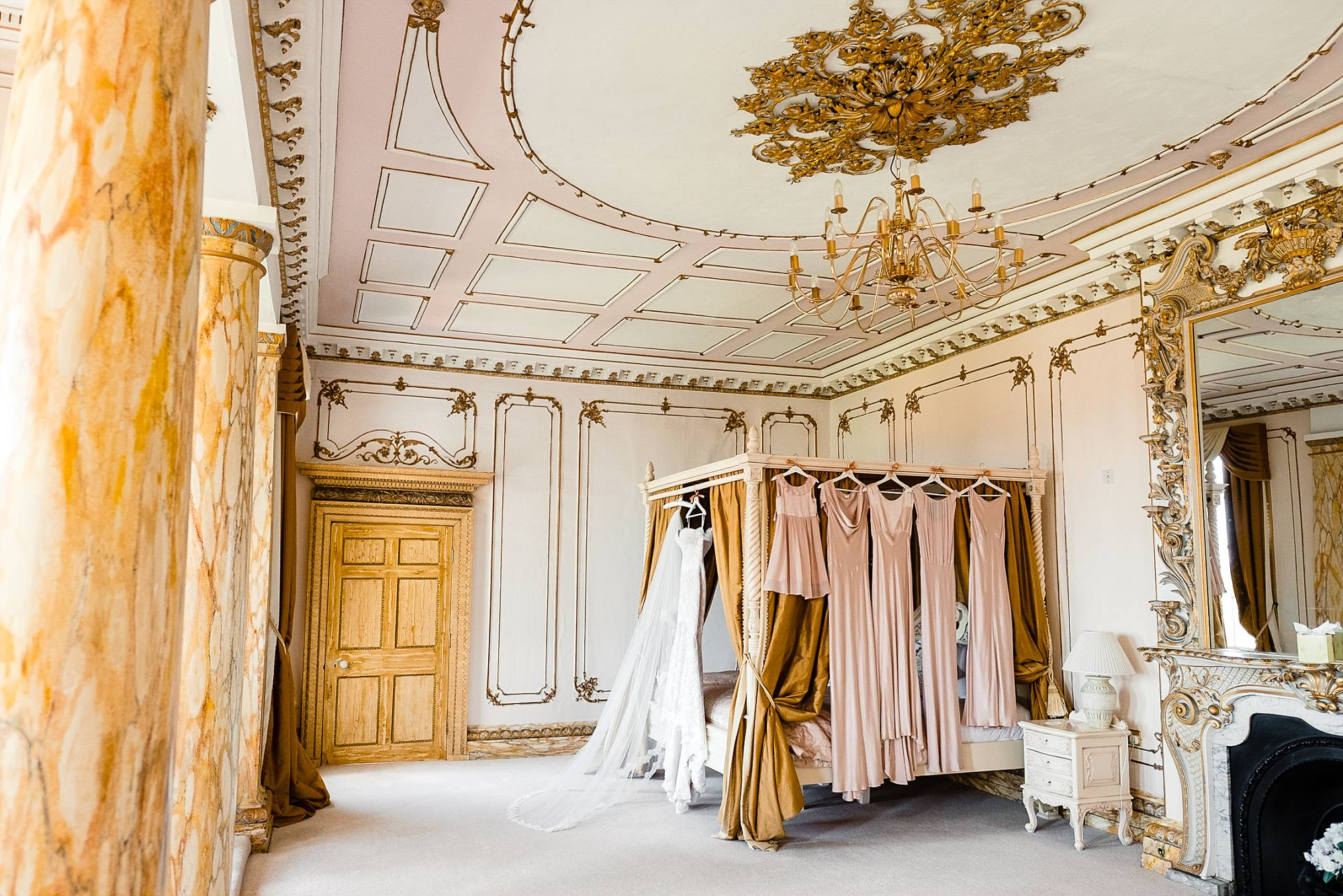 Bridal Suite at Gosfield Hall Wedding