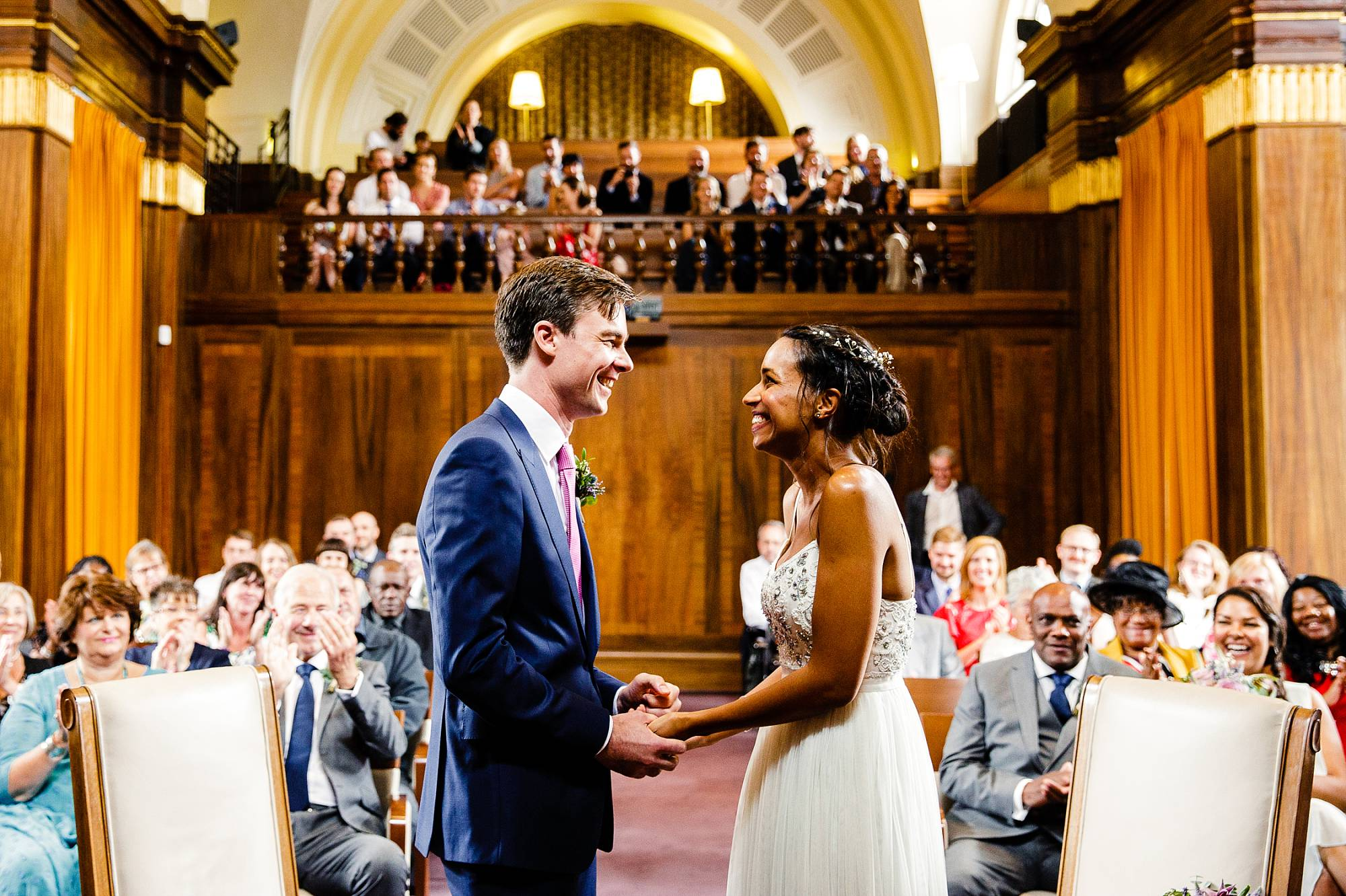 amy & john's relaxed london wedding AT the old church stoke newington