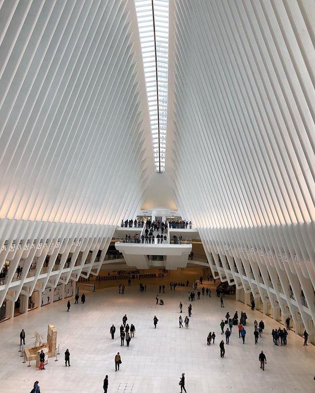 Still pretty on a grim day #remember911 #occulus #calatrava #worldtradecenter #nyc