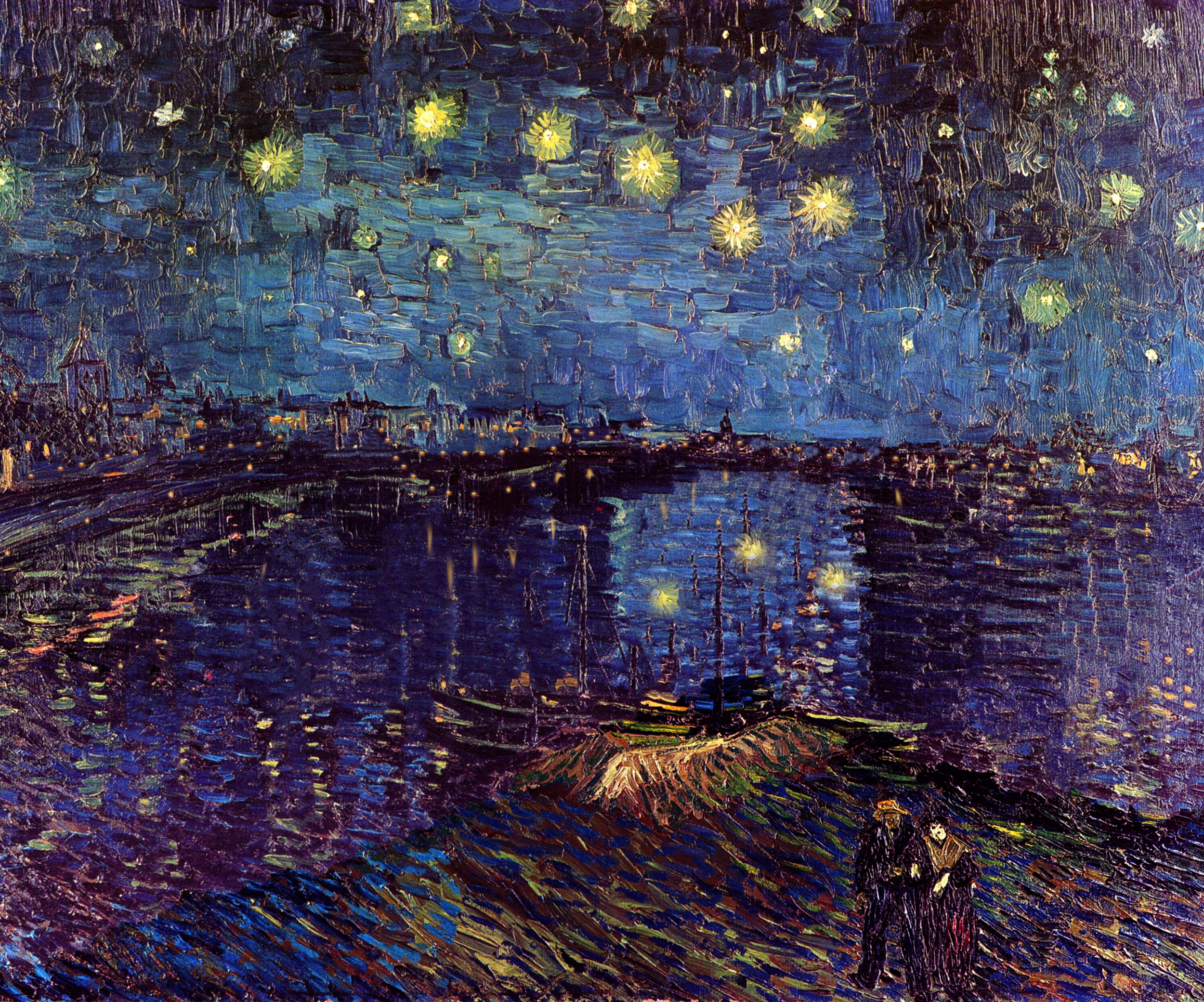 "...but the sight of the stars makes me dream"" - Vincent van Gogh"