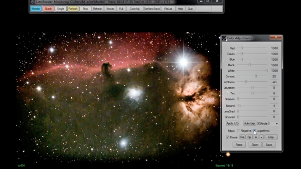 Image created with  AstroToaster  (Video by  Carl Smith. )