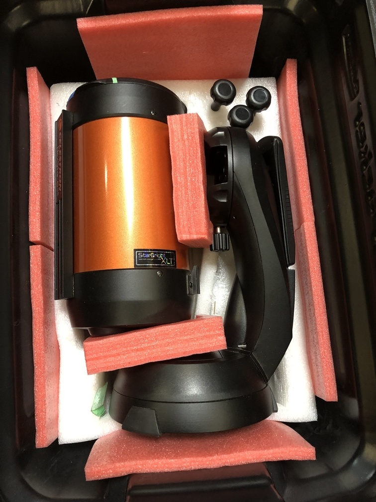 Celestron Nextstar in new, heavy-duty grade shipping and storage container