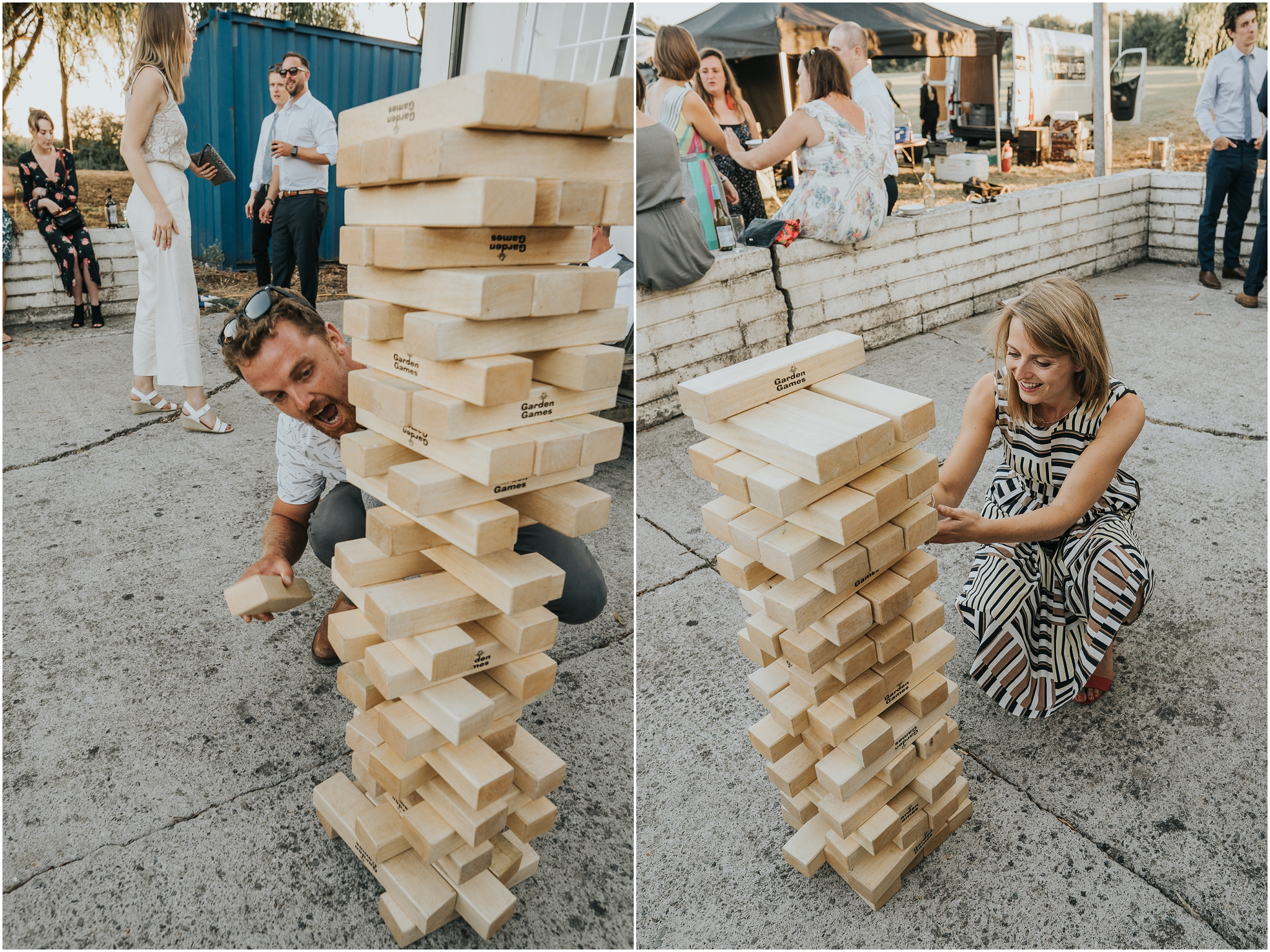 jenga wedding