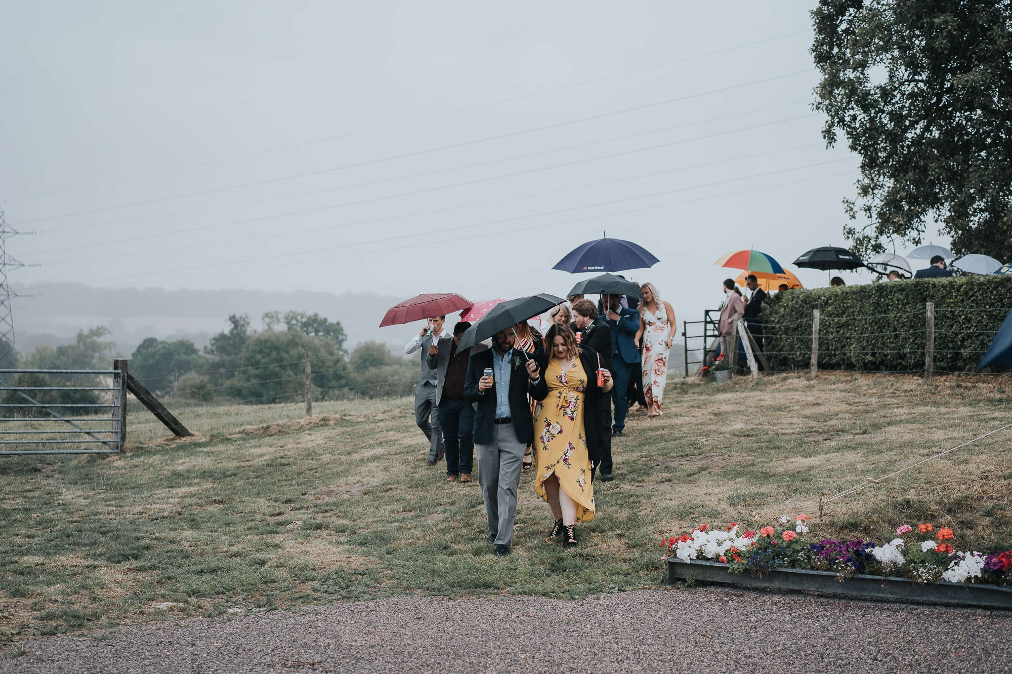 What if it rains on your wedding day? -