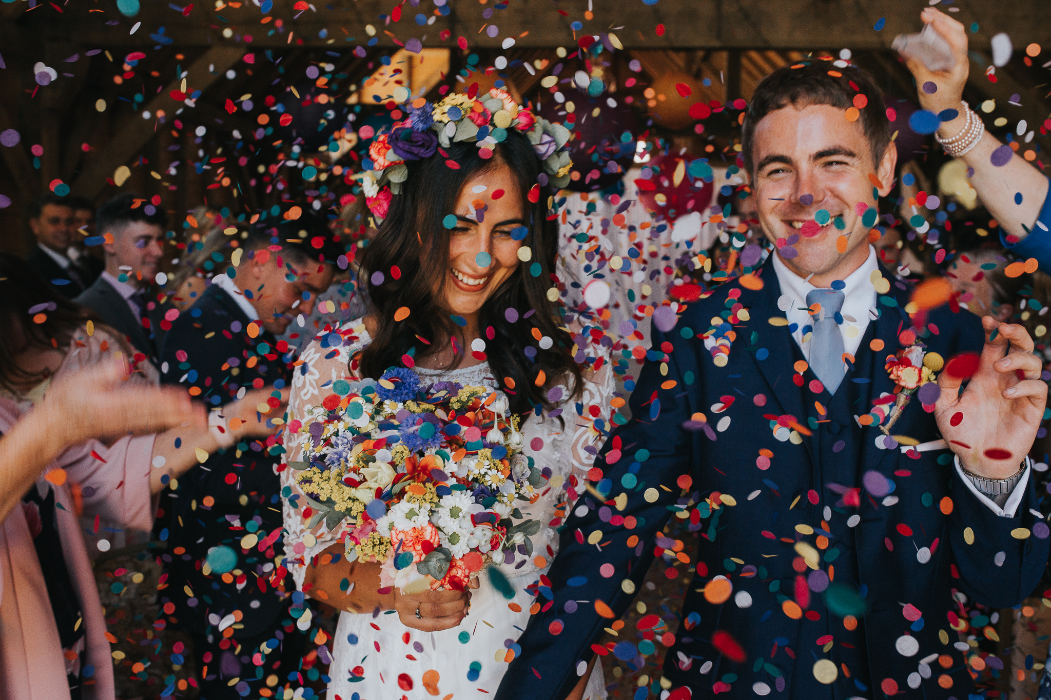 colourful confetti