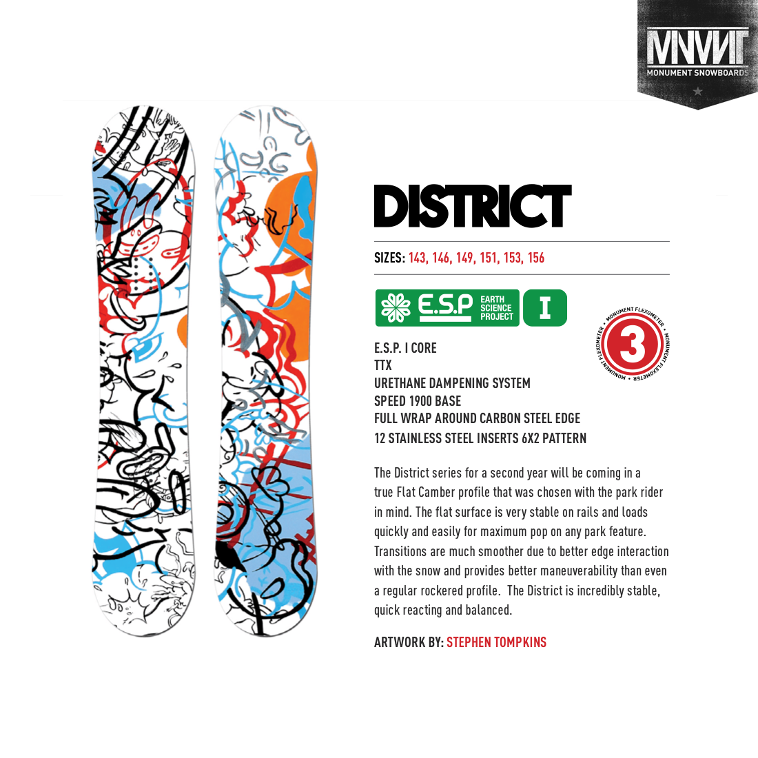 2014-2015 MNMNT Limited Edition Artist Series   Client: Monument Snowboards  SOLD OUT