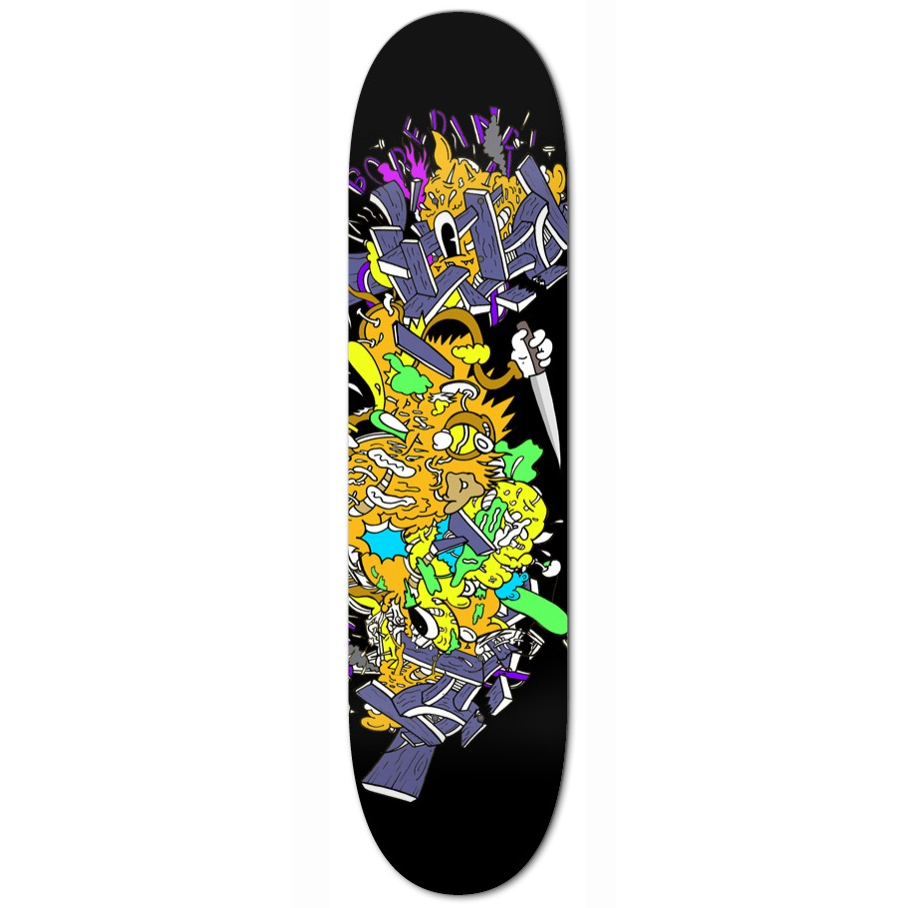 Stephen Tompkins Killer Bored Skatedeck Limited edition