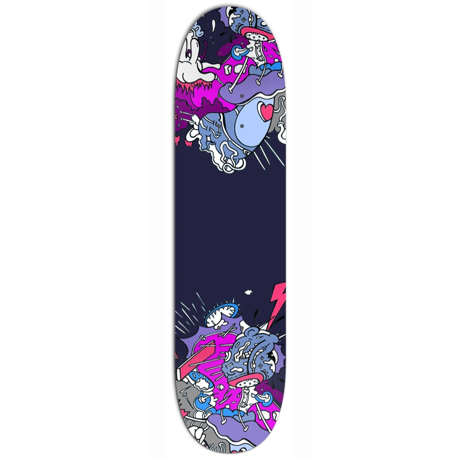 Stephen Tompkins MeatCat Skatedeck Limited edition