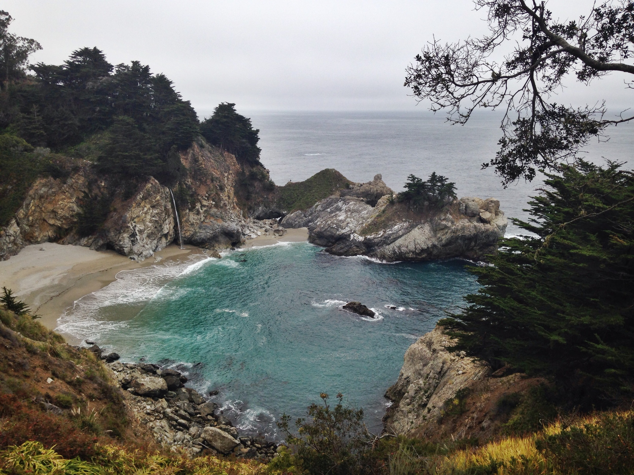 Julia Pfeiffer Burns State Park - McWay Falls - Big Sur