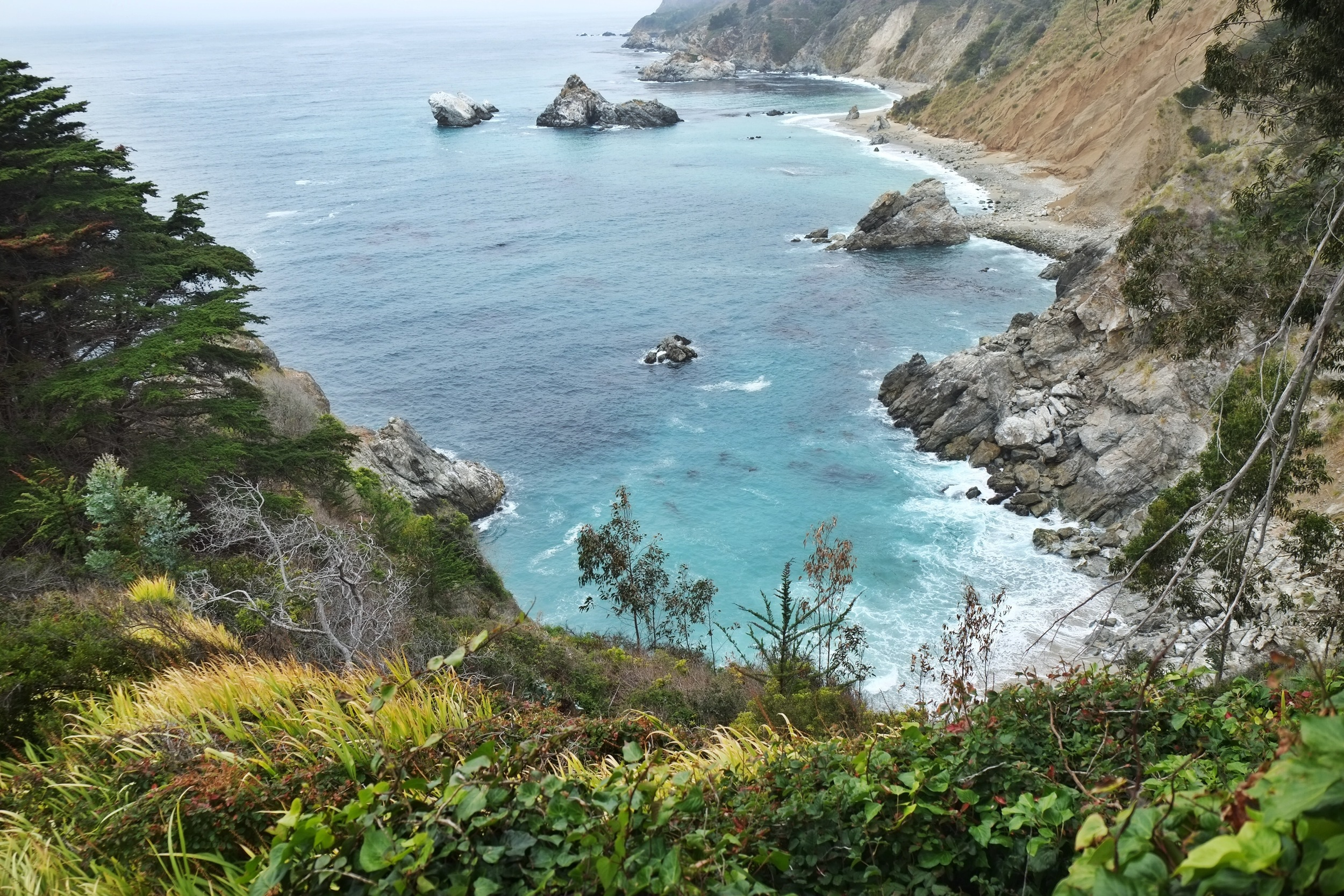 Julia Pfeiffer Burns State Park - Big Sur