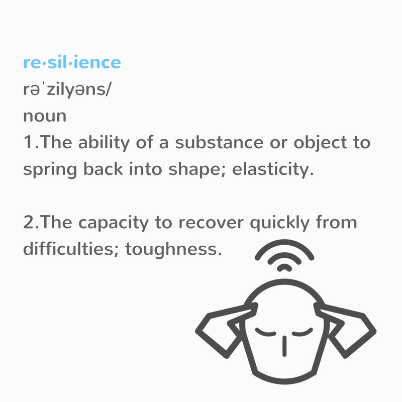 Resilience Definition Infographic