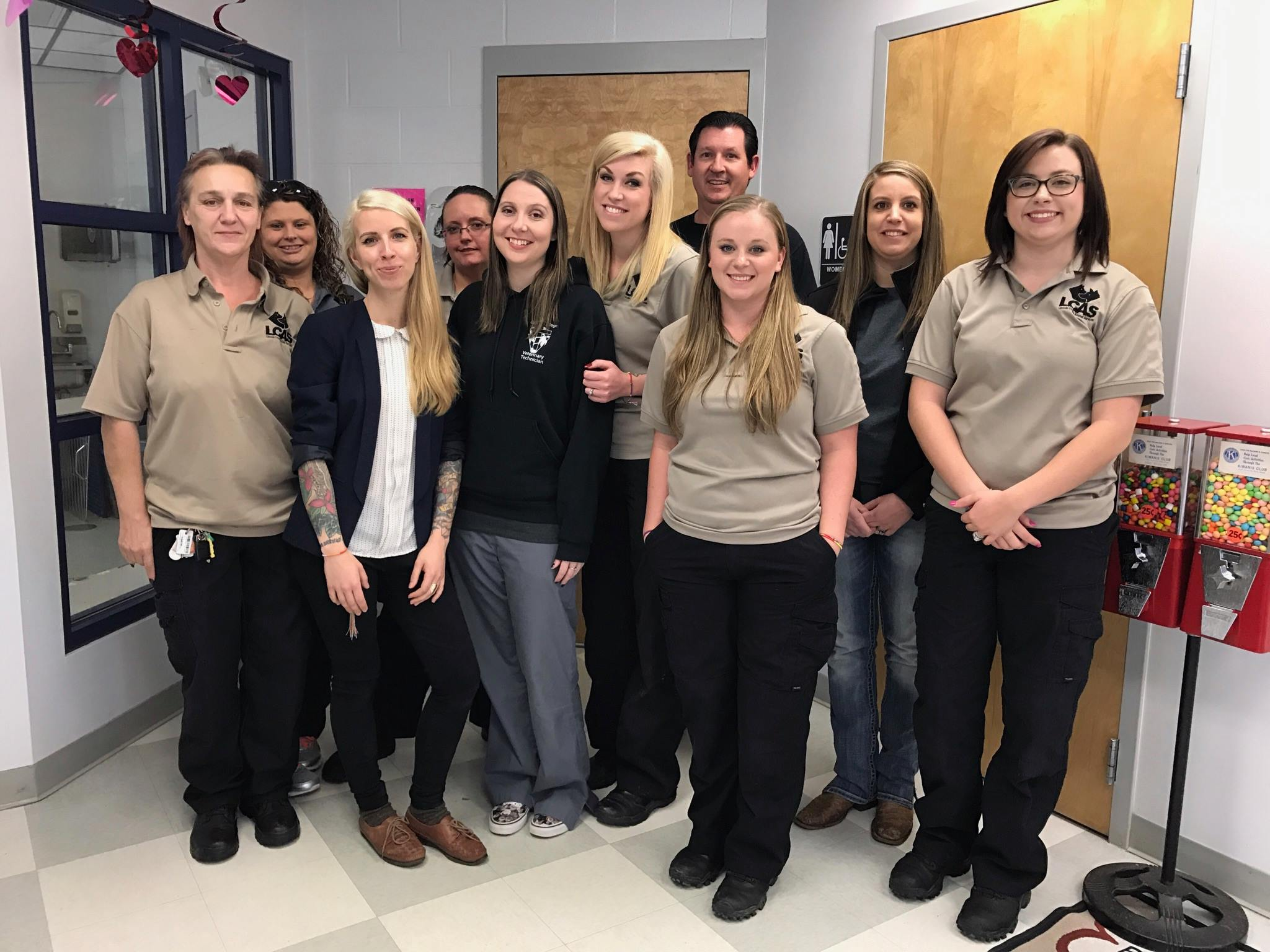 Shelter Staff Training with Lincoln County Animal Services, NC
