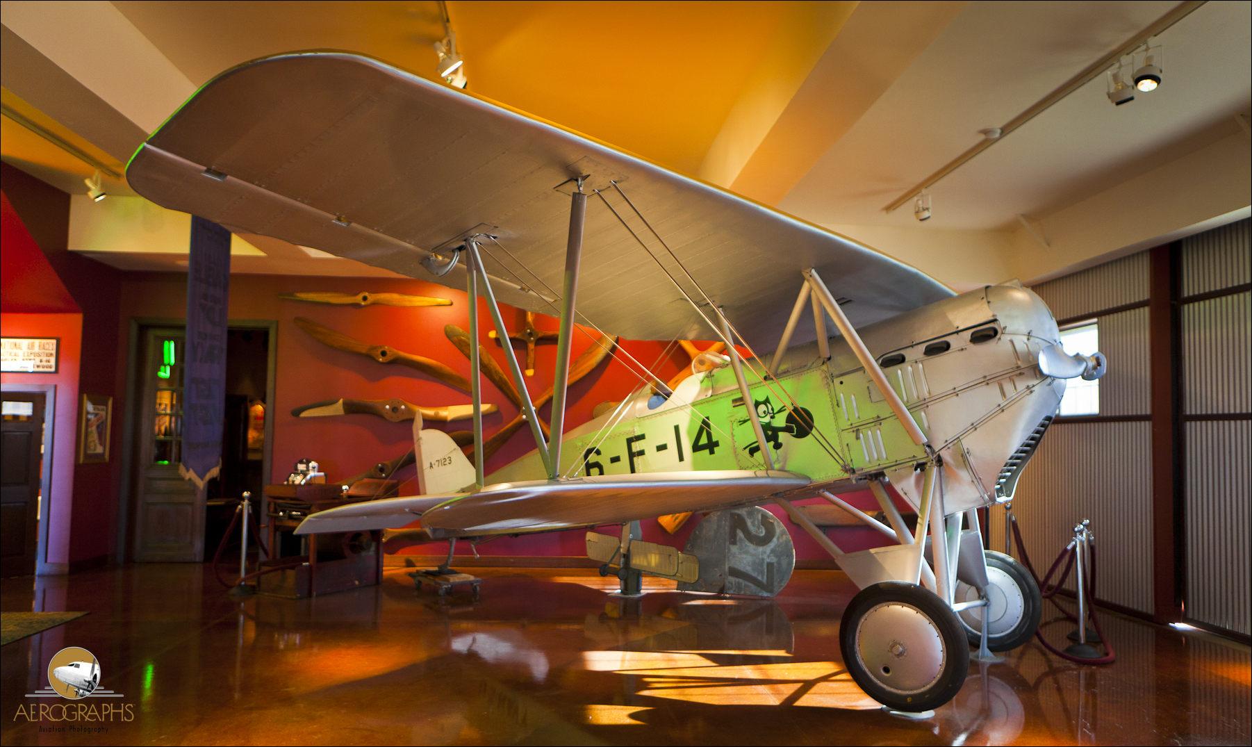 Vintage aircraft on display at the Allen Airways Flying Museum in El Cajon, California.