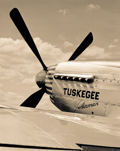 Tuskegee P-51 Exhaust and Prop