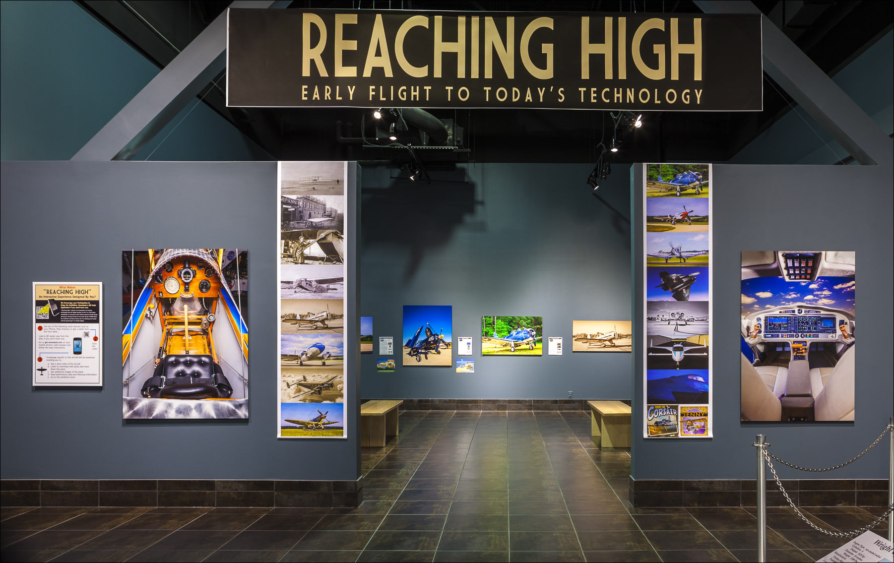 Reaching High installation at the Tellus Science Museum in Cartersville, Georgia. ©2013 John Slemp