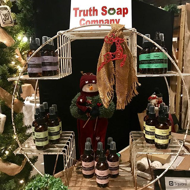 Little Spruce Market today and tomorrow only! Museum of Commerce #downtownpensacola #shoplocal #handcrafted #natural #christmas #soap #shave