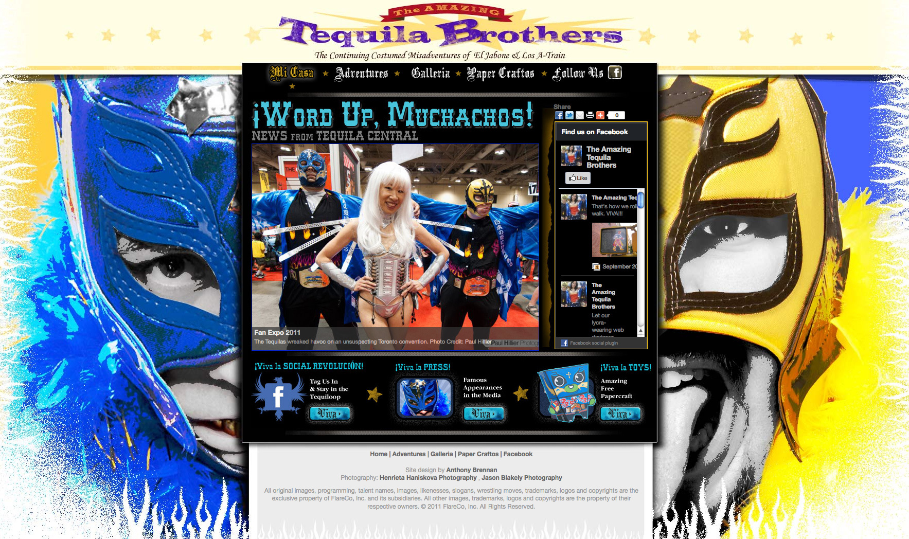 The Amazing Tequila Brothers