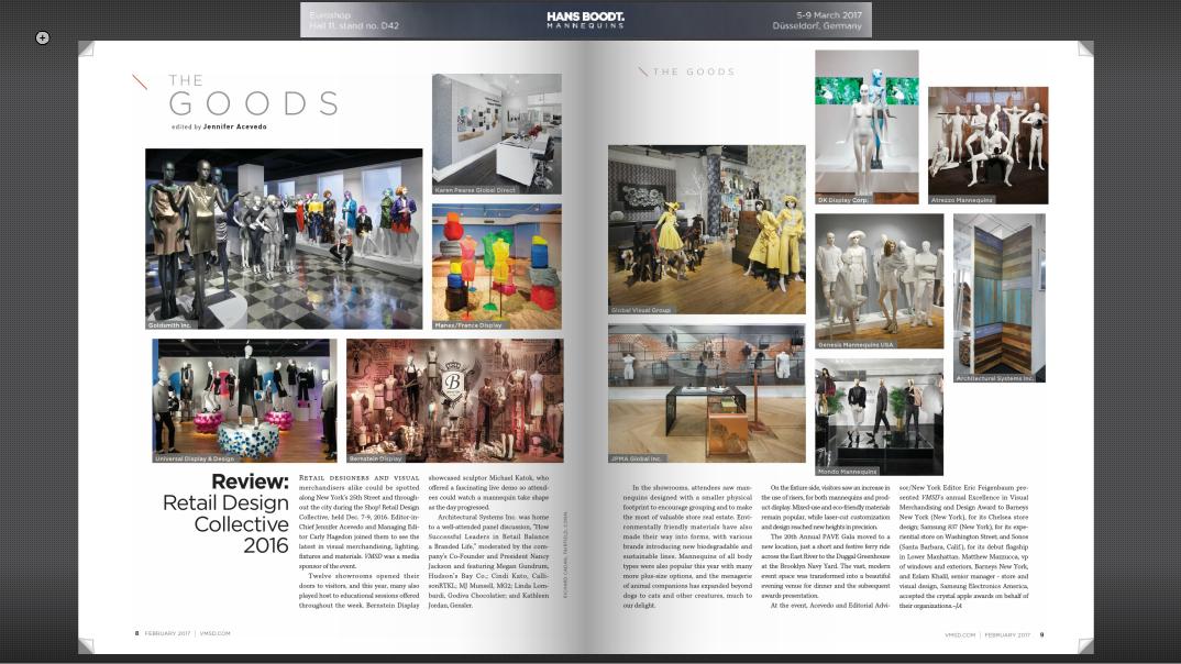 VMSD Magazine 2017 publication