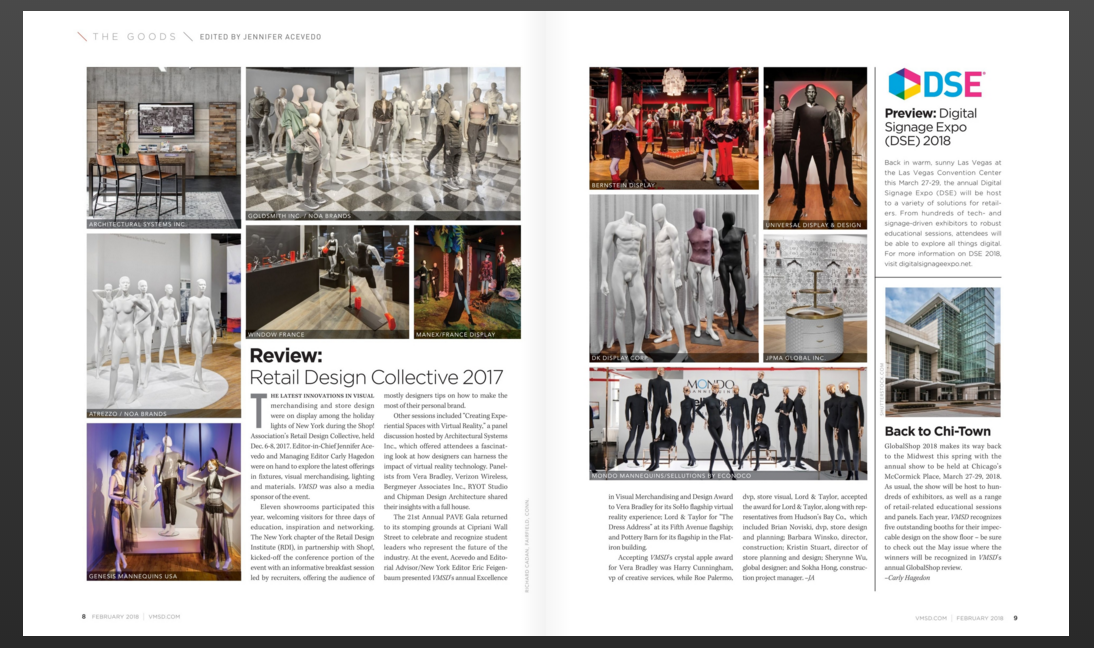 VMSD Magazine 2018 publication