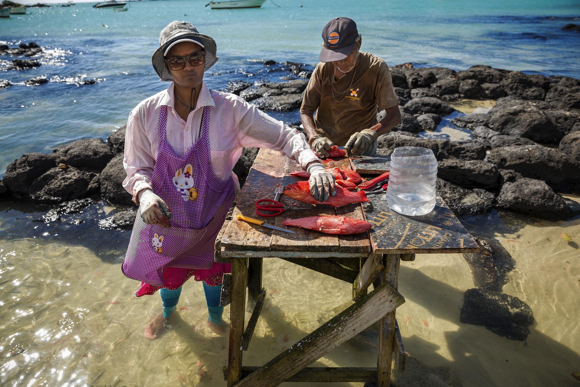 Mauritian fishing