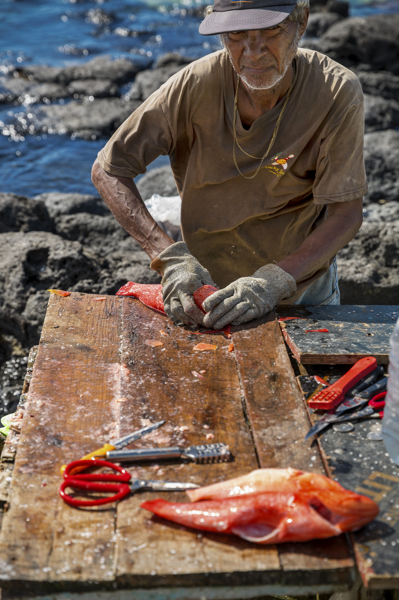 Fisherman - Mauritius