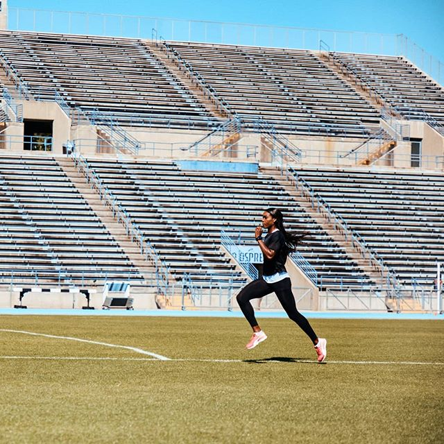 Back in Toronto training. #puma #pumawomen #pumaperformance  Photo by @dandealy