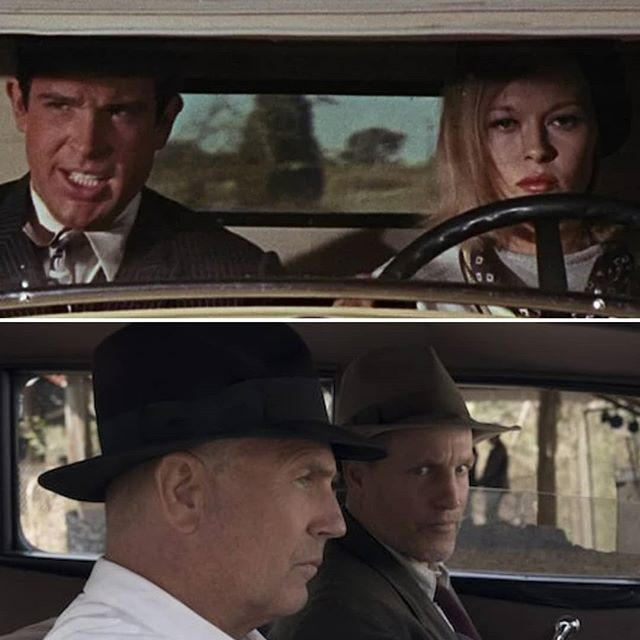 """A double feature drops tomorrow we discuss the 1967 film """"Bonnie and Clyde"""" paired with 2019's """"The Highwaymen."""" Both films available on Netflix. Watch the flicks and tune in!"""