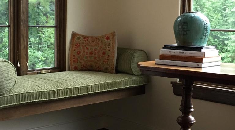Mediterranean Reading Nook by Erin McKenna Design