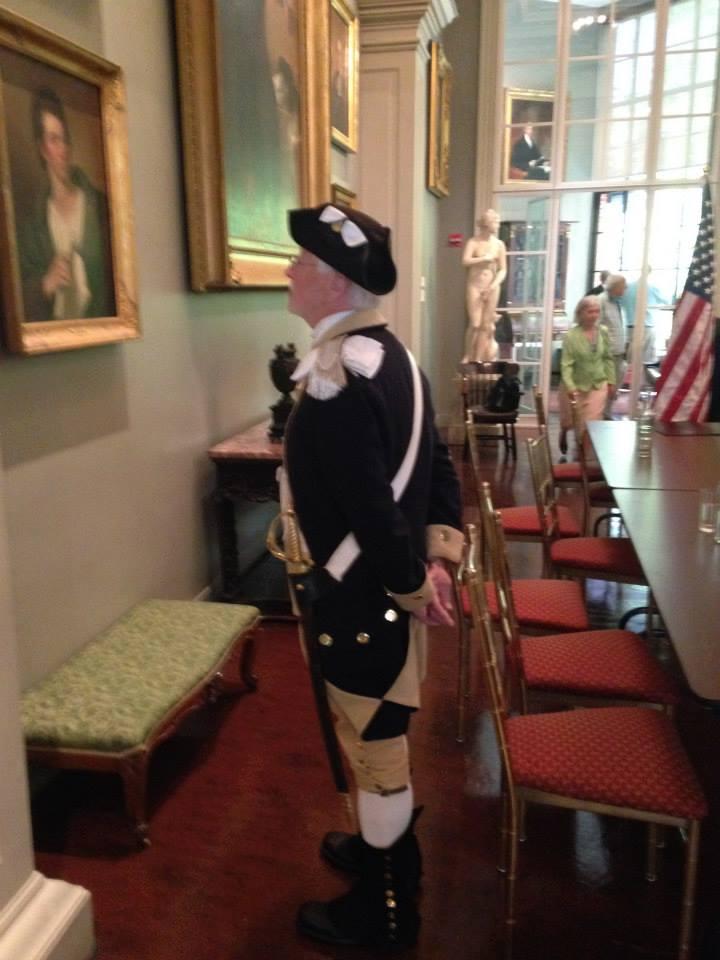 Lexington Minuteman Bill Poole