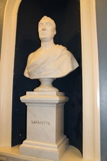 Bust of Lafayette in the  Senate Chamber