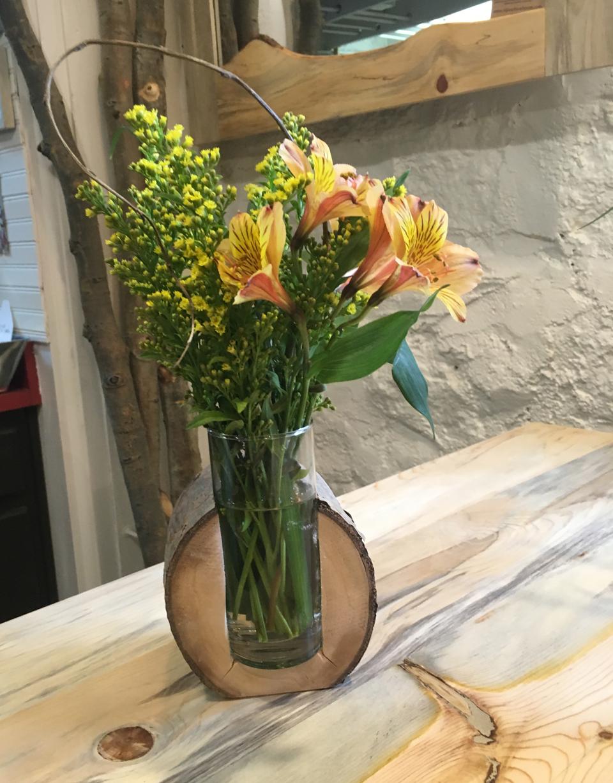 Aspen vase single $20 and double vase $28