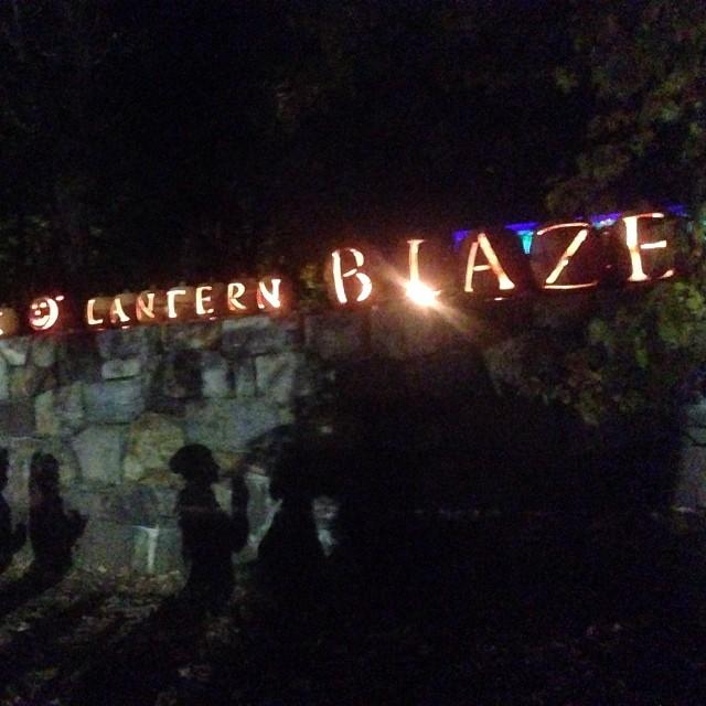 The great pumpkin blaze in Hudson valley