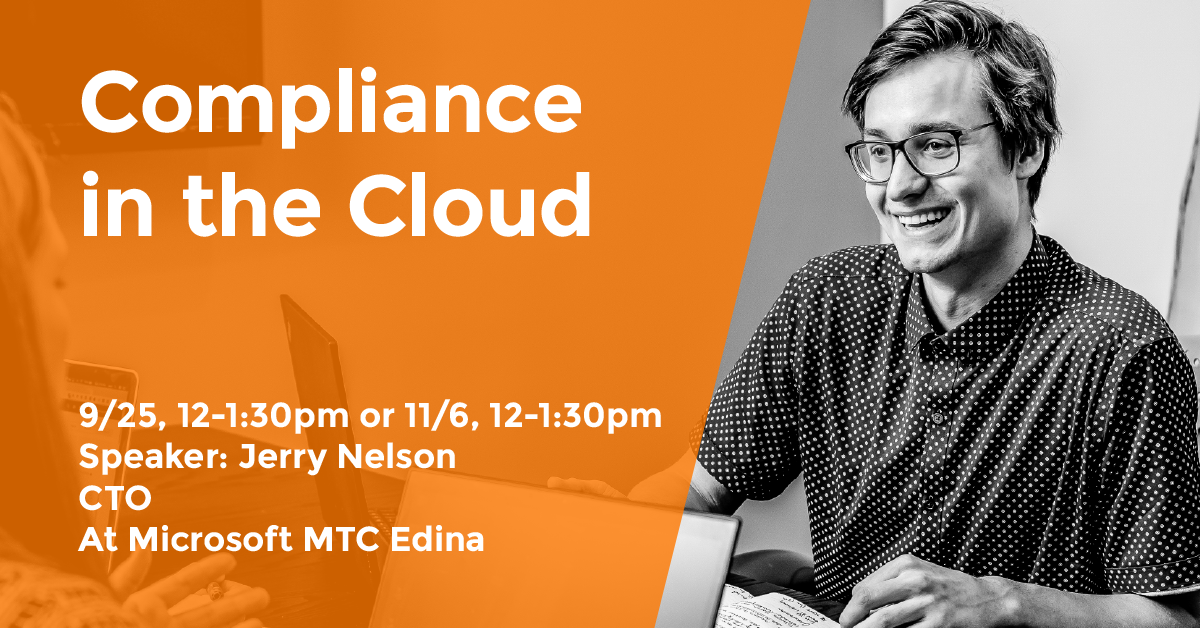 Compliance in the Cloud Event