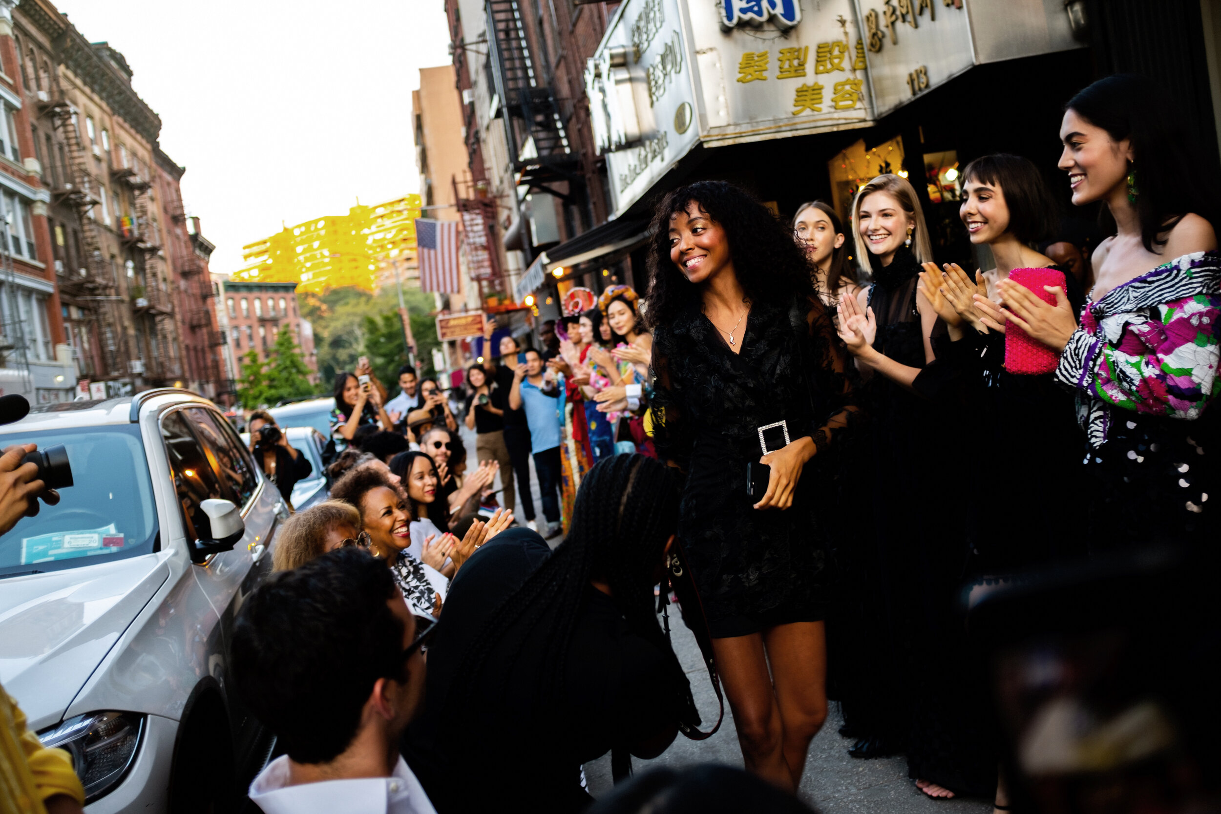 Vogue Magazine - This Sidewalk Fashion Show Brought Caribbean Designers to Downtown New York