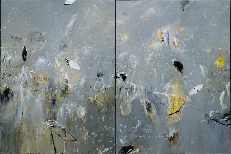 "2004 - Curvatures - 72"" X 48"""
