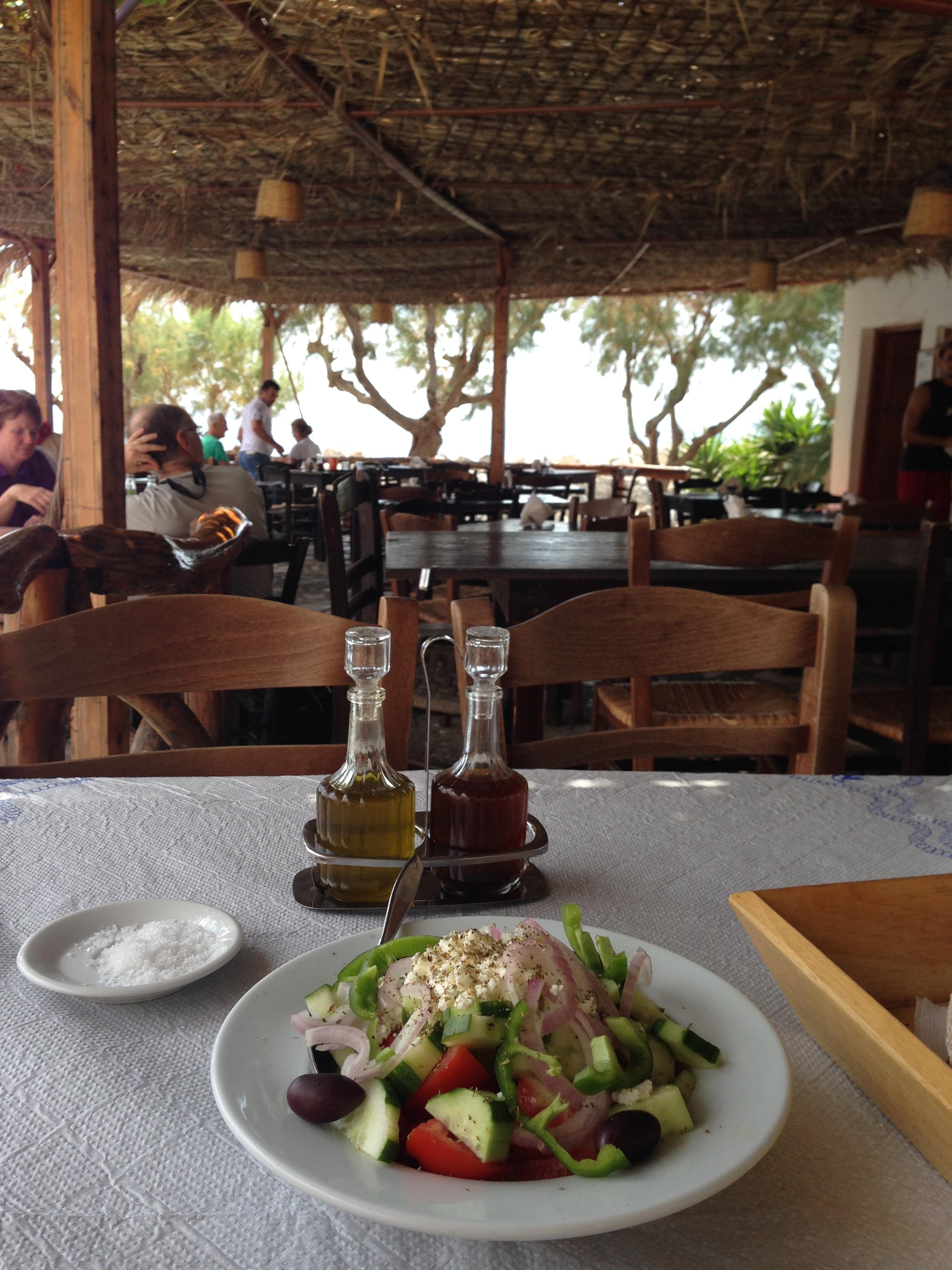 lunch at Marmara