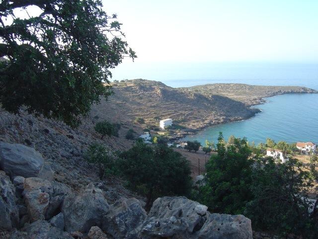 Finikas bay from the hillside