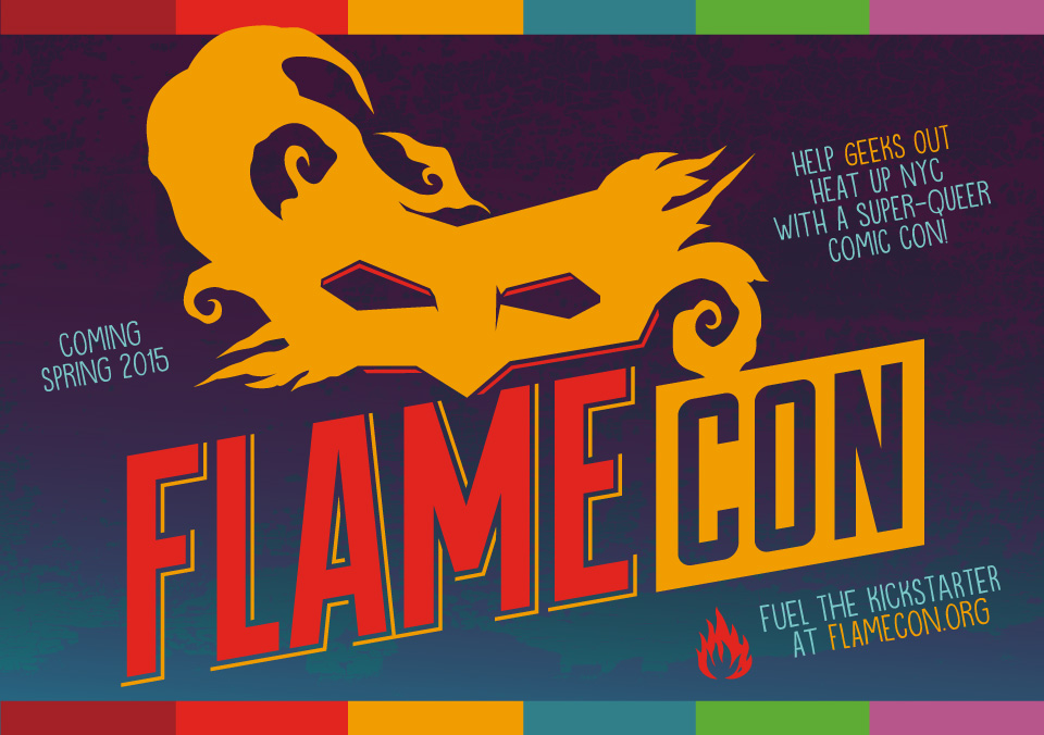 Join us and James B. Emmett at Flame Con 2015!
